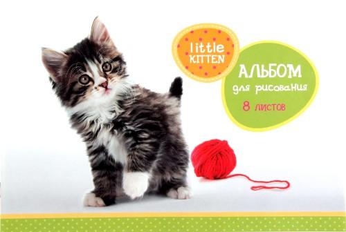 Альбом 8л. маленький котенок