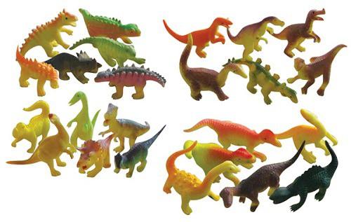 Набор Динозавров 6шт. в тубе 6см в асс.