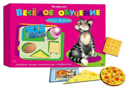 """Развивающая игра """"Веселое обучение"""" Учим формы Рыжий кот"""