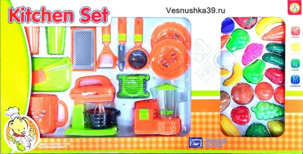"Набор посуды ""Kitchen Set"" с миксерами"