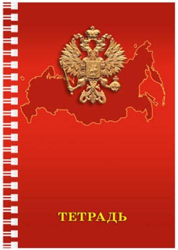 Тетрадь 96л. кл. А4 Россия