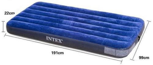 Матрас-кровать надувной 99*191*22 INTEX