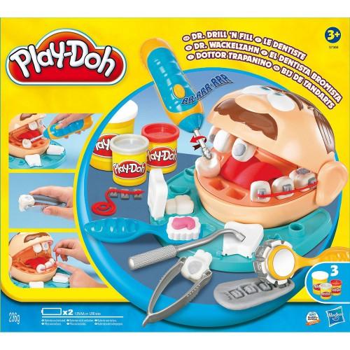 """Пластилин-тесто набор """"Play-Doh"""" Зубастик"""