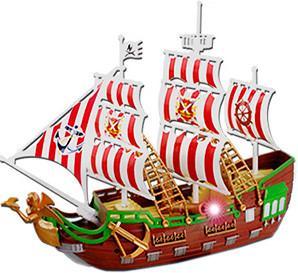 """Корабль """"Жемчужина"""" на бат. звук, свет, движение"""